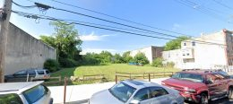 2390 West Dauphin Street. Looking south. Credit: Google