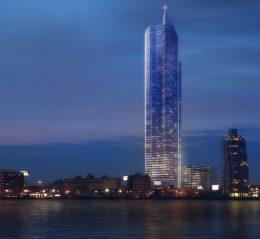 Bridgeman's View Tower. Rendering via Studio Agoos Lovera