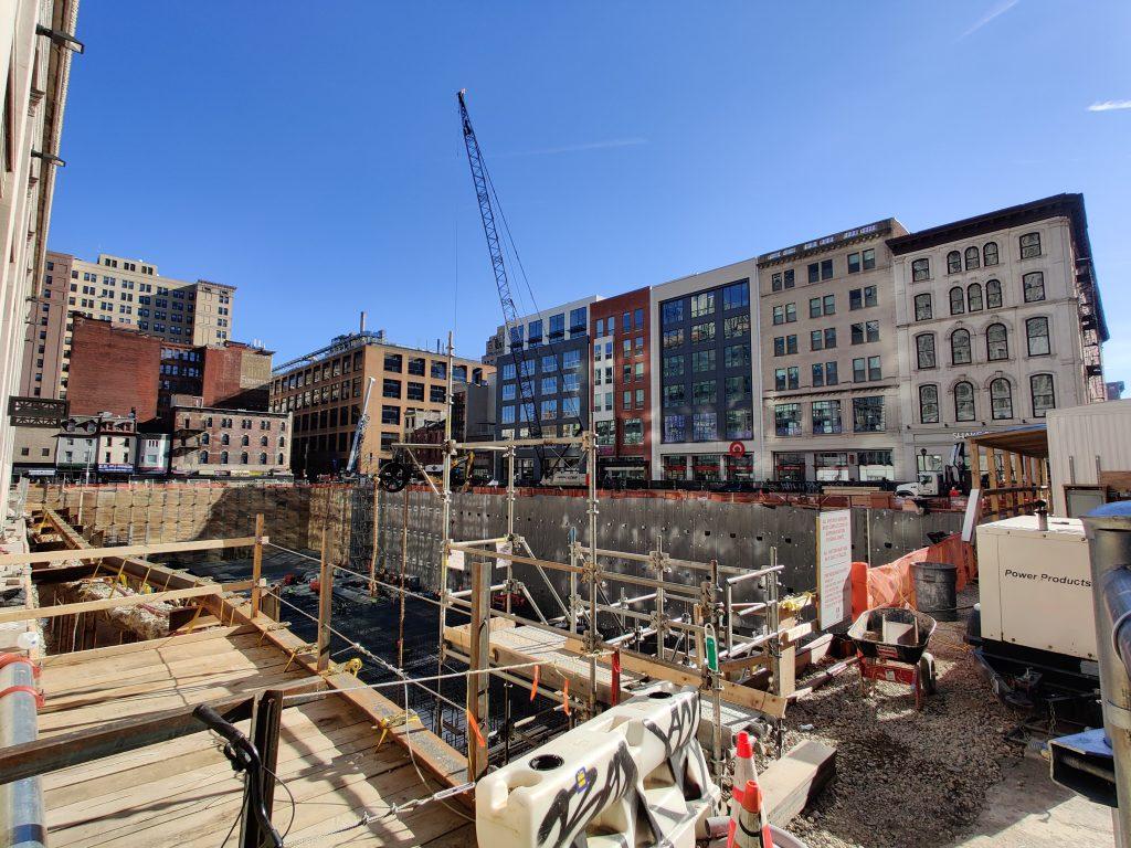 East Market Phase 3 looking southeast. Photo by Thomas Koloski