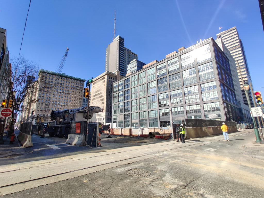East Market Phase 3 looking northwest. Photo by Thomas Koloski