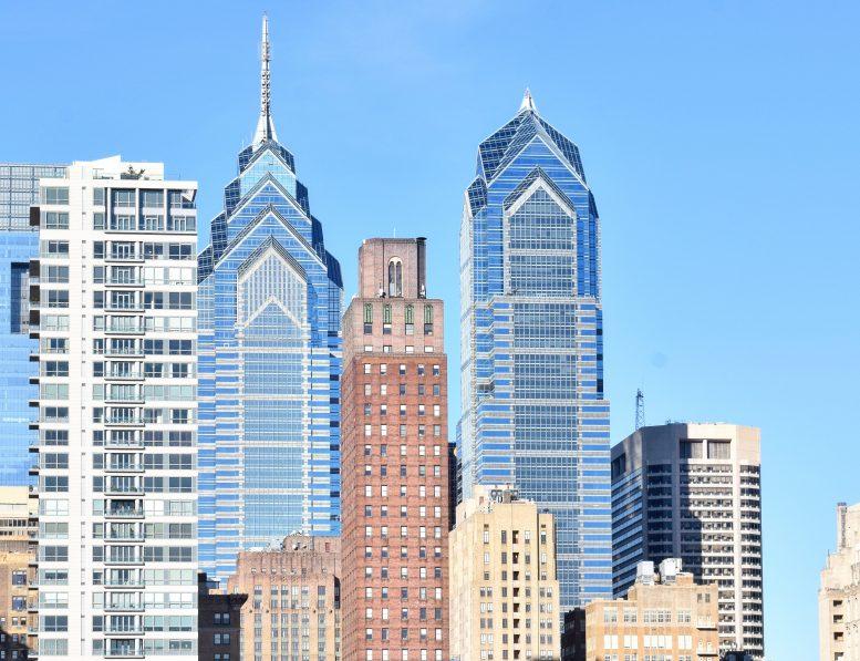 One and Two Liberty Place. Photo By Thomas Koloski