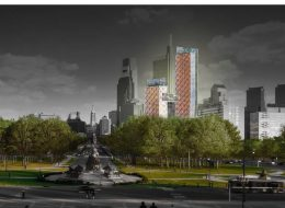 Timber Towers. Rendering via Hickok Cole