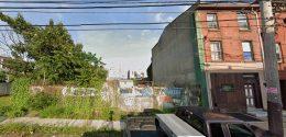 2529 North 2nd Street. Looking east. Credit: Google