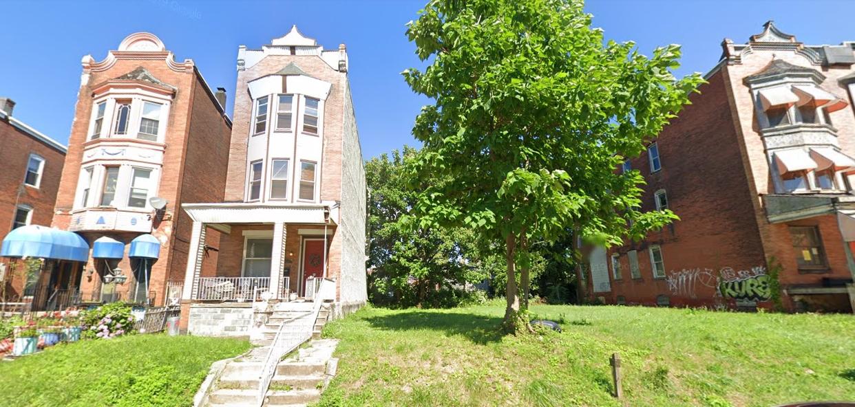 3317 North 16th Street. Looking east. Credit: Google