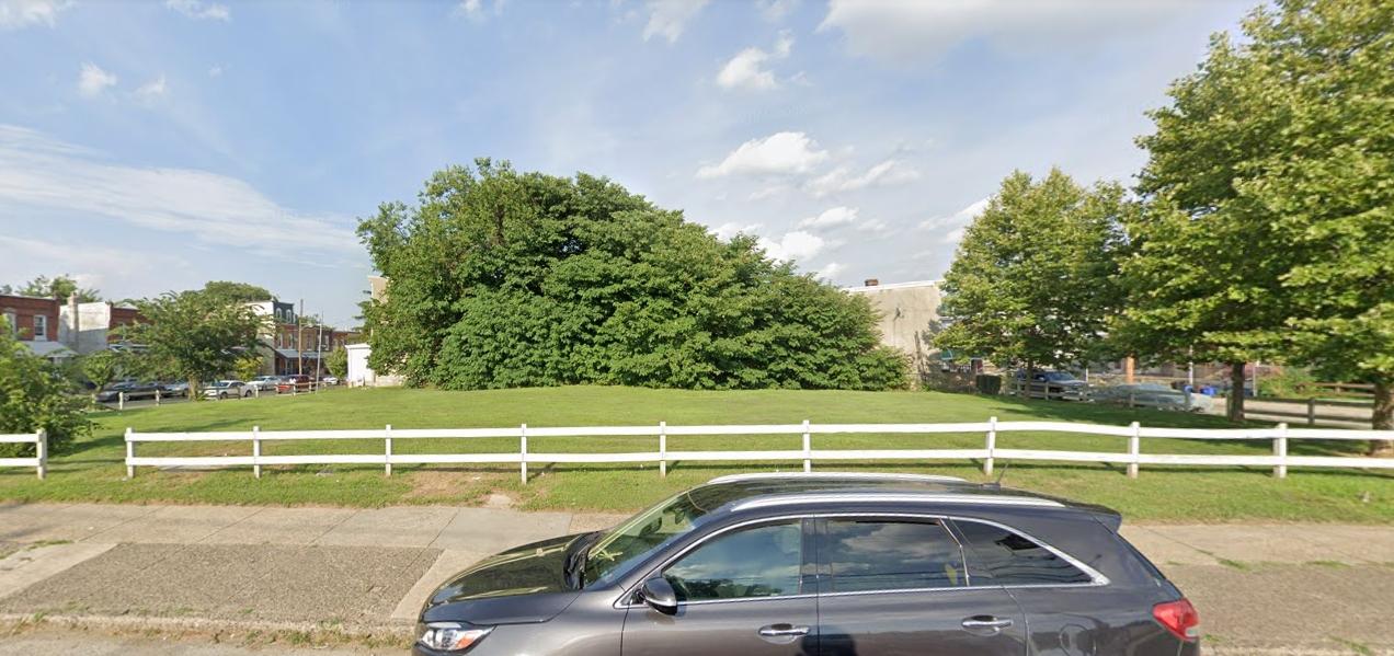 727 North 39th Street. Looking east. Credit: Google