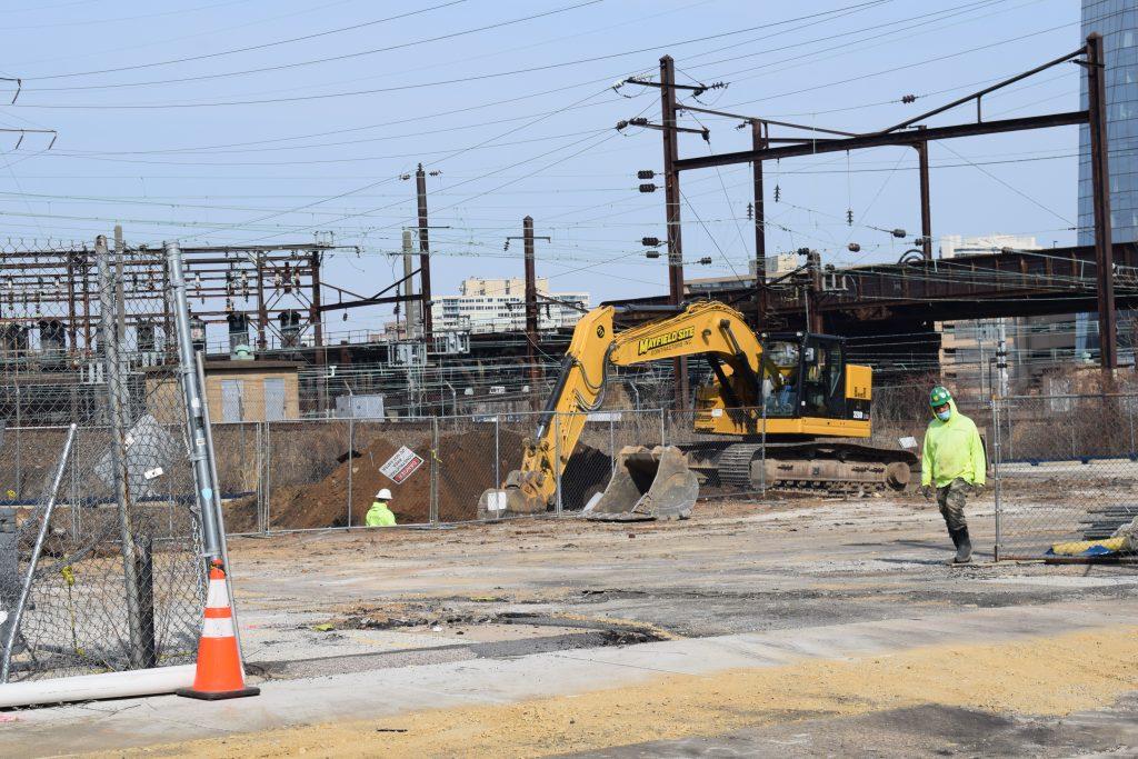 3025 John F. Kennedy Boulevard excavation. Photo by Thomas Koloski