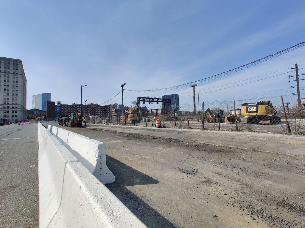 3025 John F. Kennedy Boulevard site looking north. Photo by Thomas Koloski