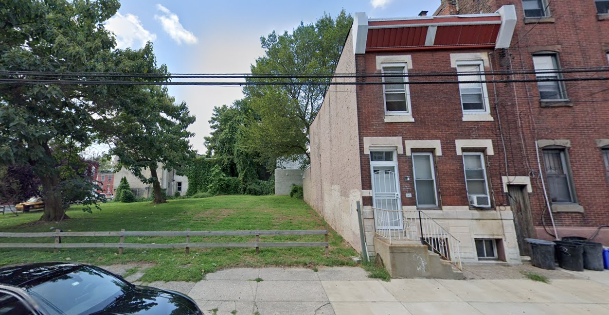 2304-08 North 9th Street. Looking west. Credit: Google