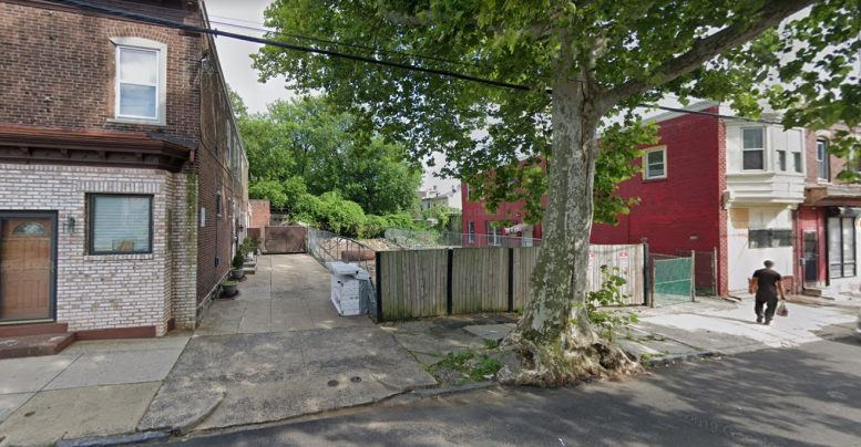 342 West Queen Lane. Looking southeast. Credit: Google
