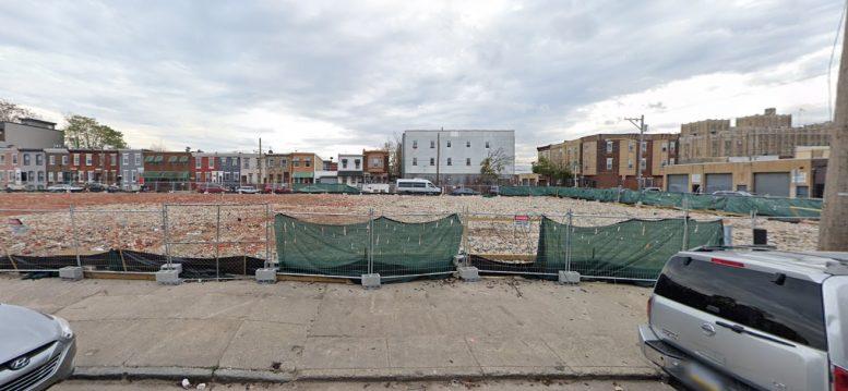 620 Moore Street. Looking south. Credit: Google