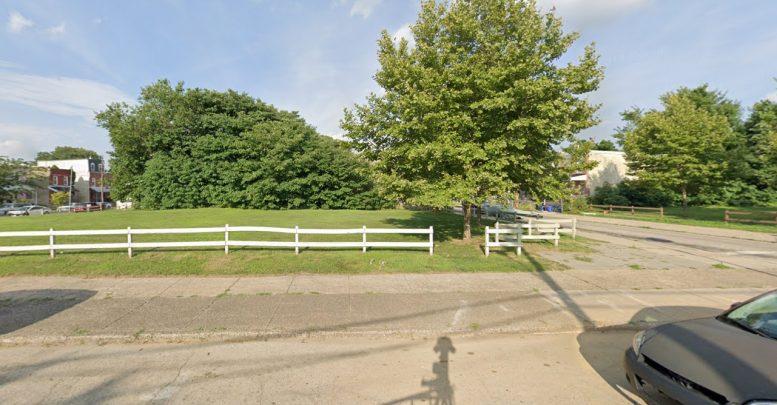 725 North 39th Street. Looking east. Credit: Google