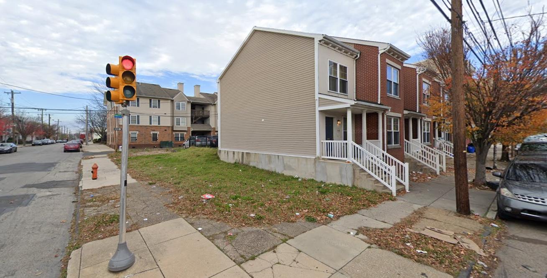 846 North 44th Street. Looking northwest. Credit: Google
