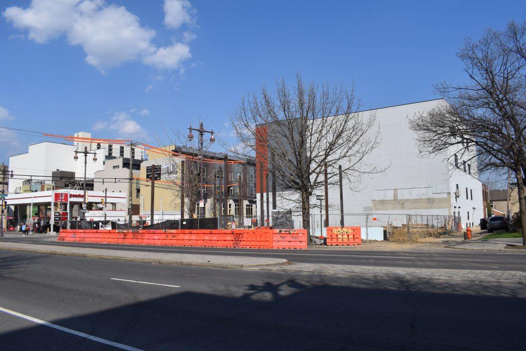 701 South Broad Street looking northeast. Photo by Thomas Koloski