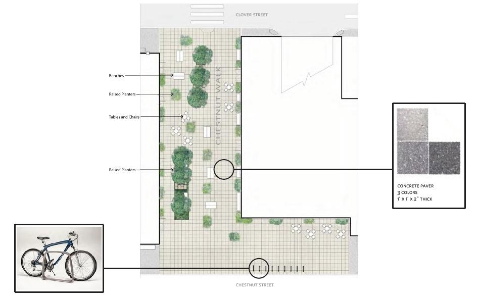 Chestnut Walk at East Market Phase 3. Credit: National Real Estate Development / Ennead Architects / Morris Adjmi / BLTa via CDR
