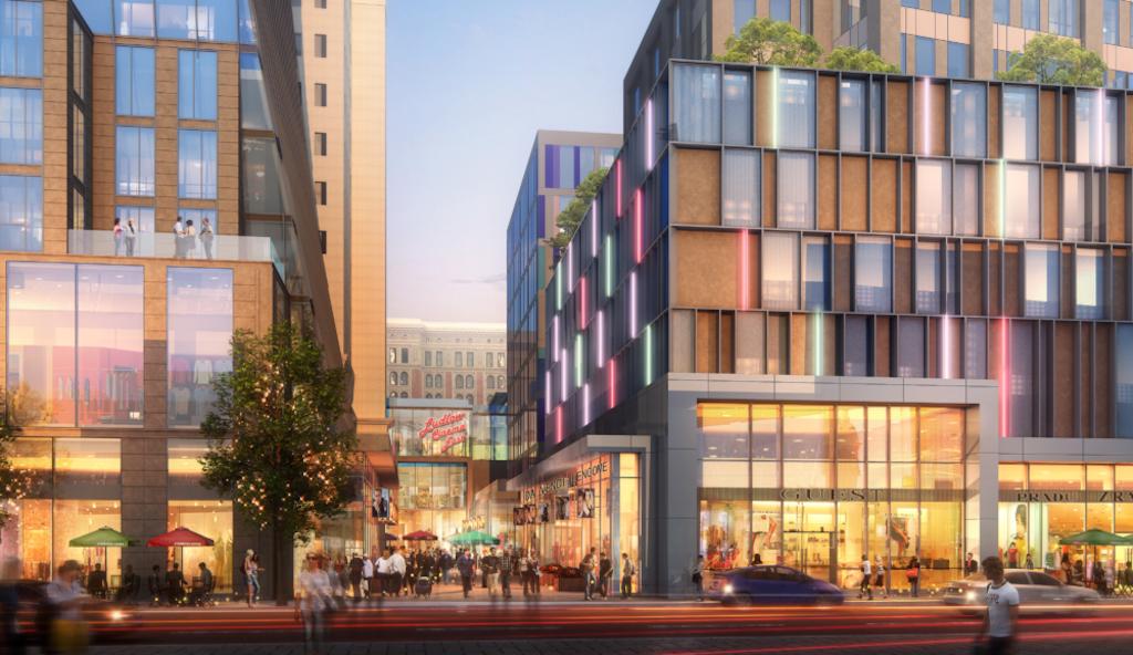 Prior design of Chestnut Walk at East Market Phase 3. Credit: BLTa