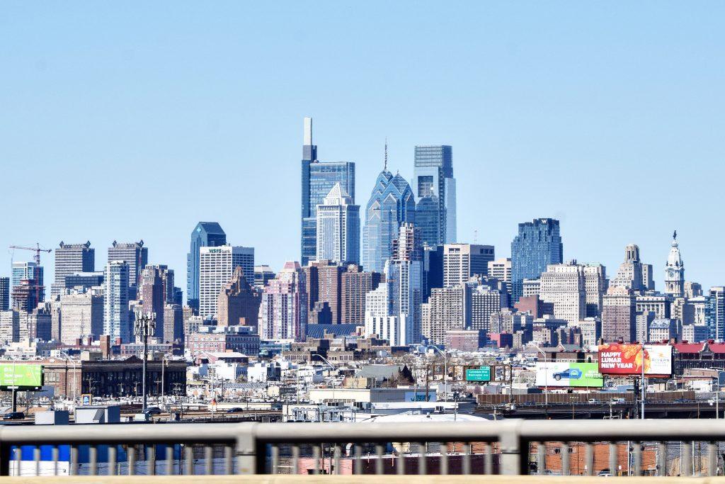 Arthaus in the Philadelphia skyline. Photo by Thomas Koloski