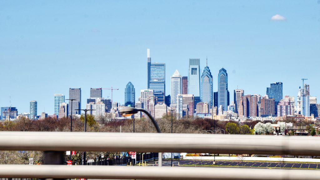 Arthaus (right) in the Philadelphia skyline. Photo by Thomas Koloski