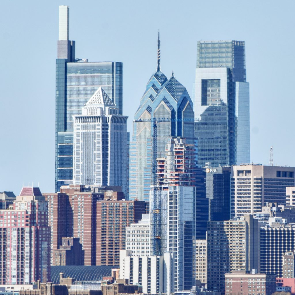 Arthaus and the Center City tower cluster. Photo by Thomas Koloski