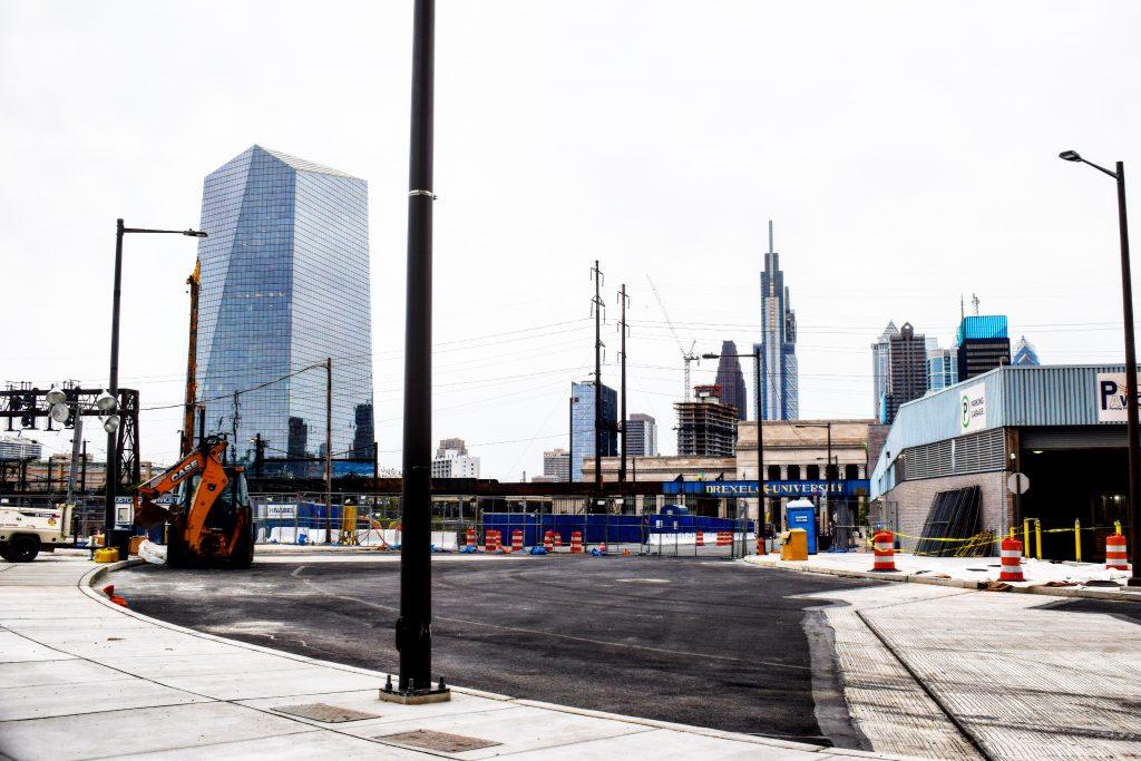3025 John F. Kennedy (left) and the Center City skyline. Photo by Thomas Koloski