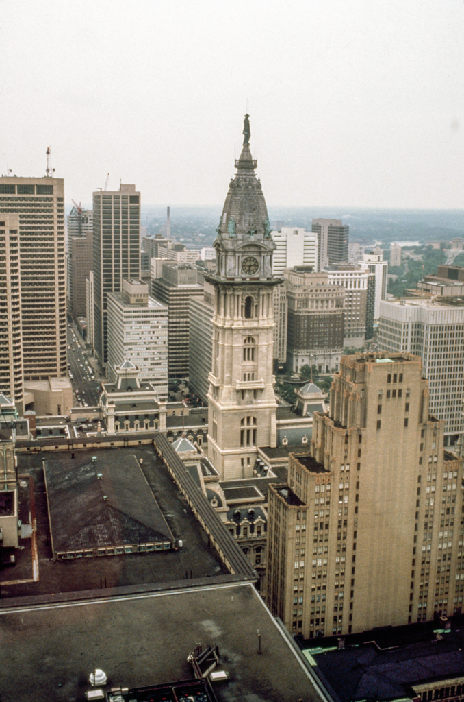 Philadelphia City Hall 1985. Photo via Richard Guy Wilson