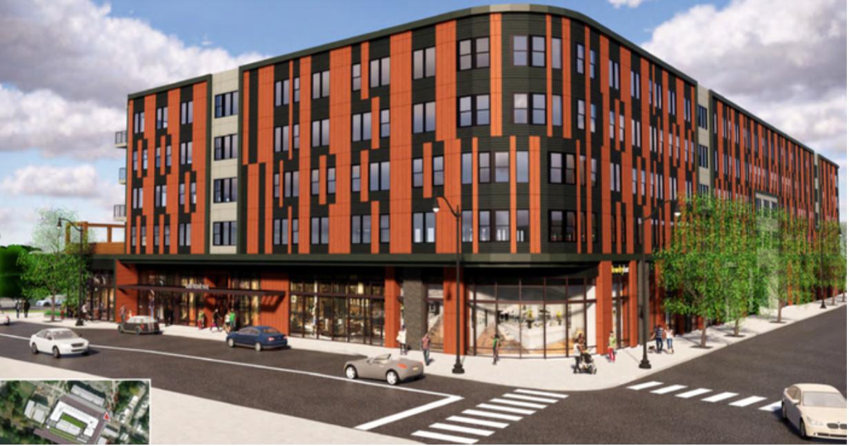 Ridge Flats at 4300-26 Ridge Avenue. Credit: KTGY Architecture & Planning.