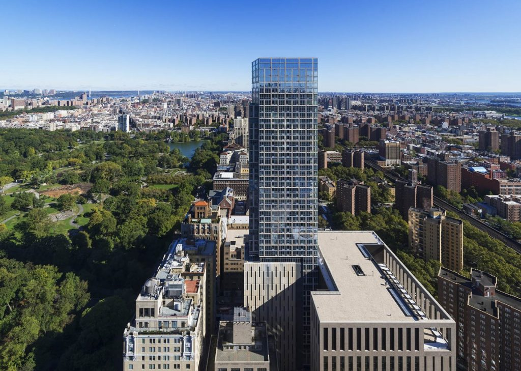 1214 Fifth Avenue in New York City. Looking north. Credit: Pelli Clarke Pelli Architects
