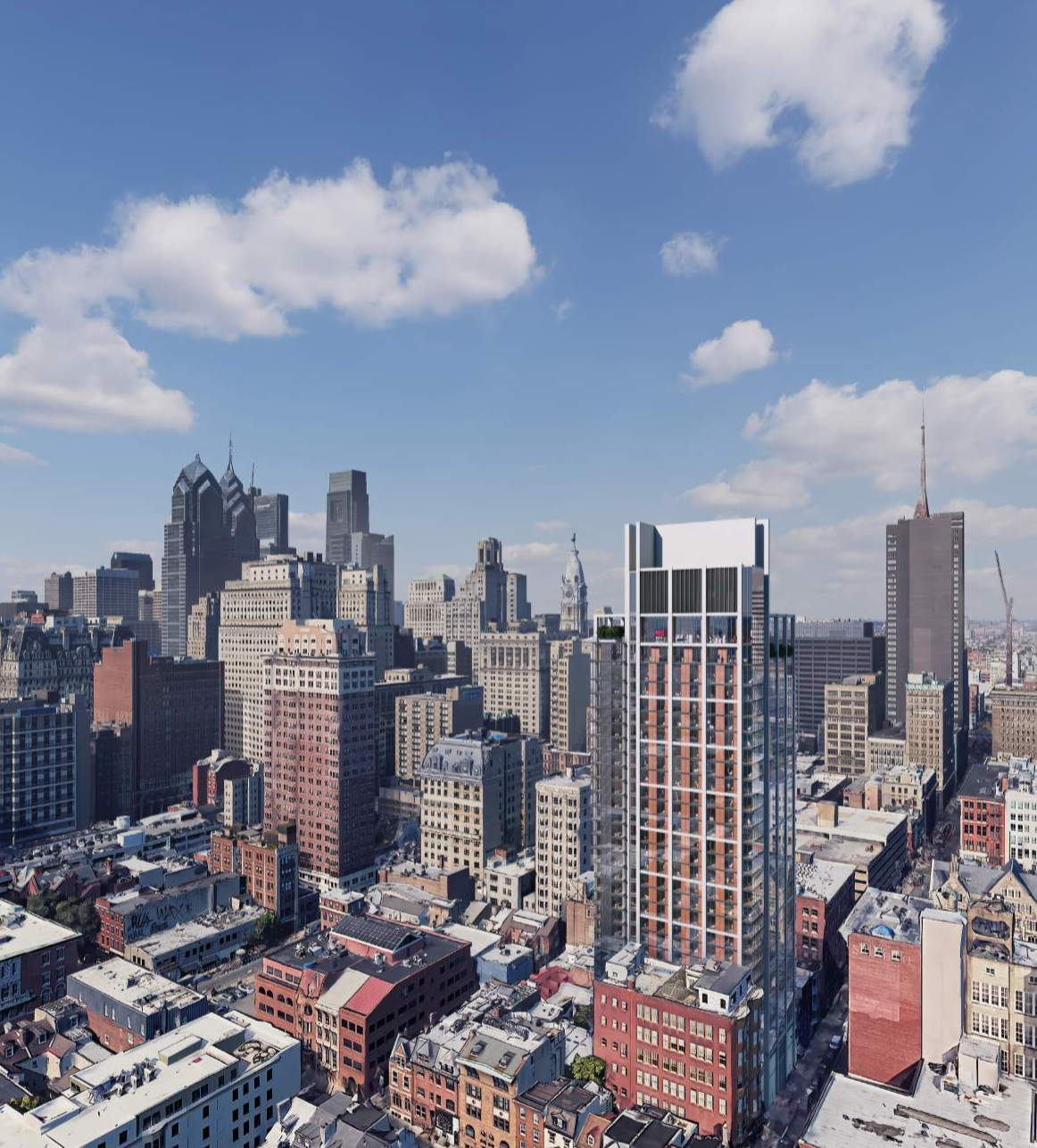 Rendering of 204 South 12th Street. Credit: BLT Architects