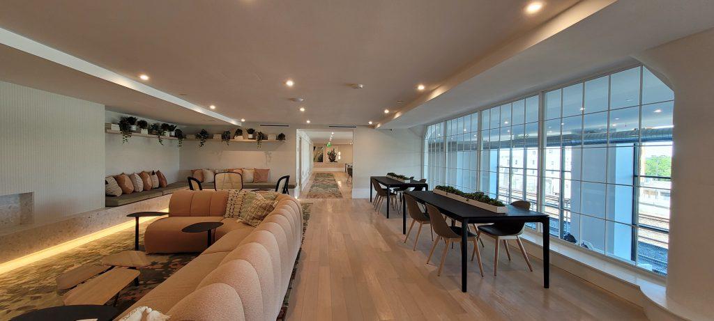 The Poplar lounge. Photo by Thomas Koloski