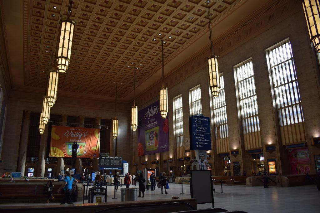 30th Street Station main concourse. Photo by Thomas Koloski