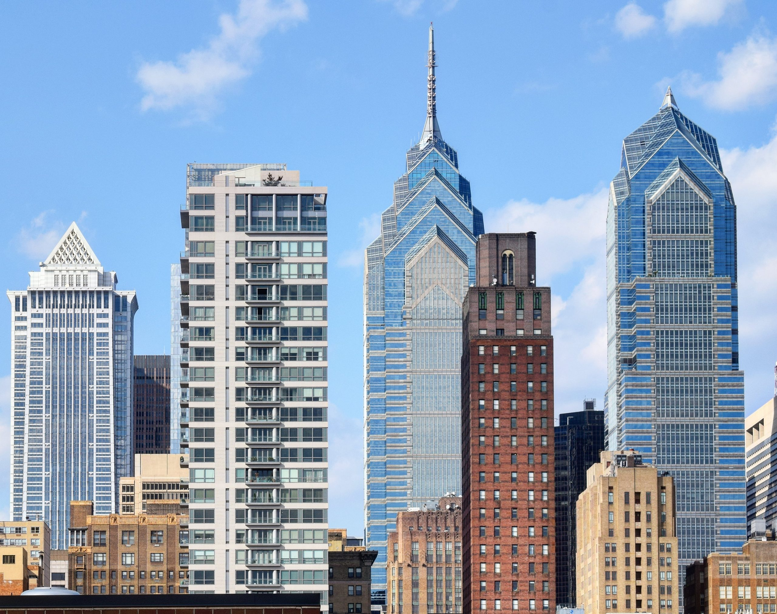 Medical Tower with Center City Towers. Photo by Thomas Koloski
