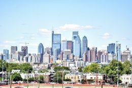 Center City from South Philadelphia. Photo by Thomas Koloski