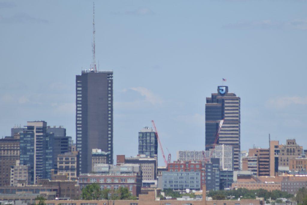 East Market Phase 3 tower cranes. Photo by Thomas Koloski