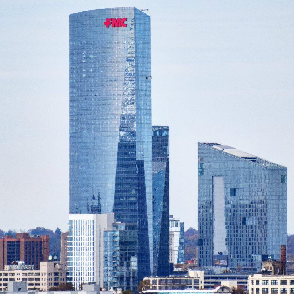 BMU on top FMC Tower. Photo by Thomas Koloski