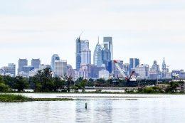 Philadelphia skyline 2017 from New Jersey. Photo by Thomas Koloski