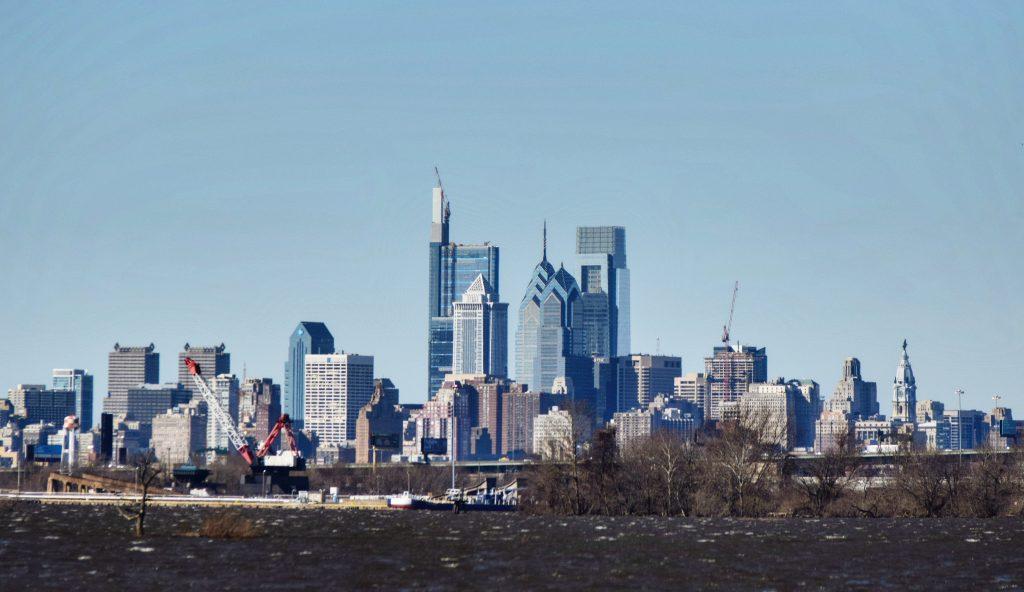 Philadelphia skyline 2018 from New Jersey. Photo by Thomas Koloski