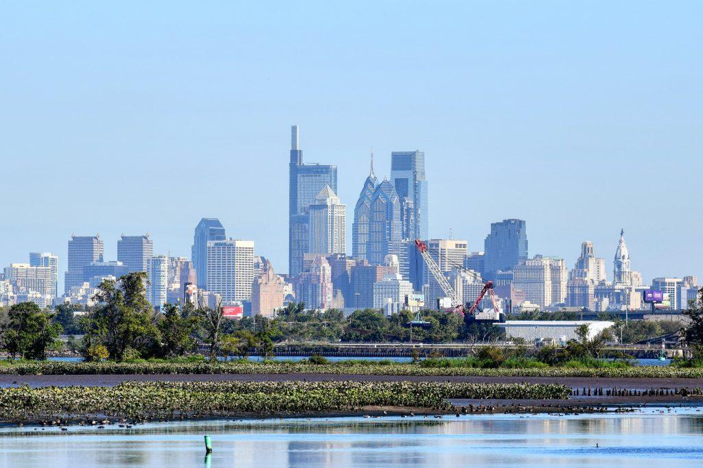 Philadelphia skyline 2019 from New Jersey. Photo by Thomas Koloski