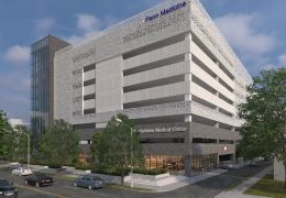 Penn Presbyterian Medical Center Parking Garage at 3800 Powelton Avenue. Credit: THA Consulting