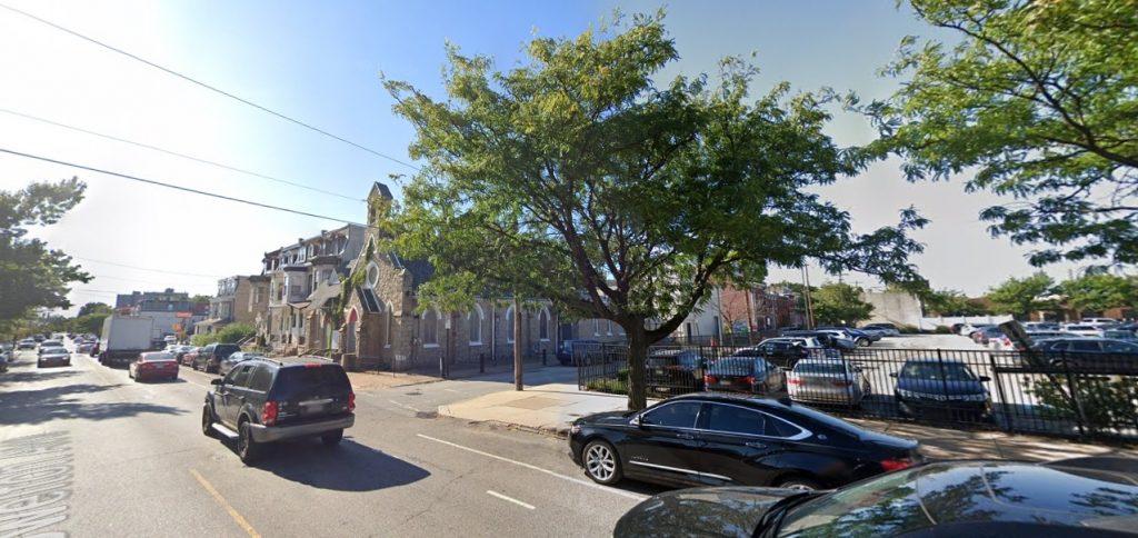 Powelton Avenue and SLoan Street. Looking northwest. Credit: Google