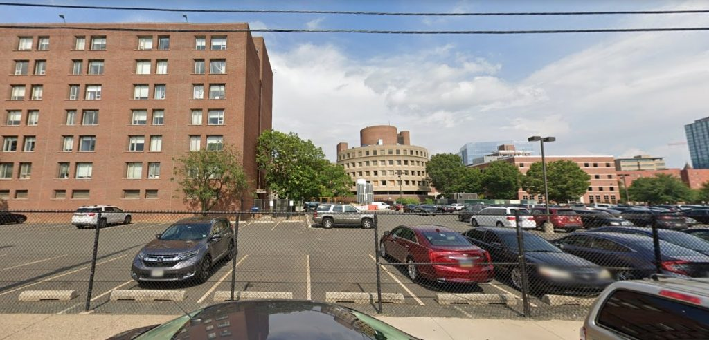 Site of the facility proposed at 3800 Powelton Avenue. Looking east from Sloan Street. Credit: Google