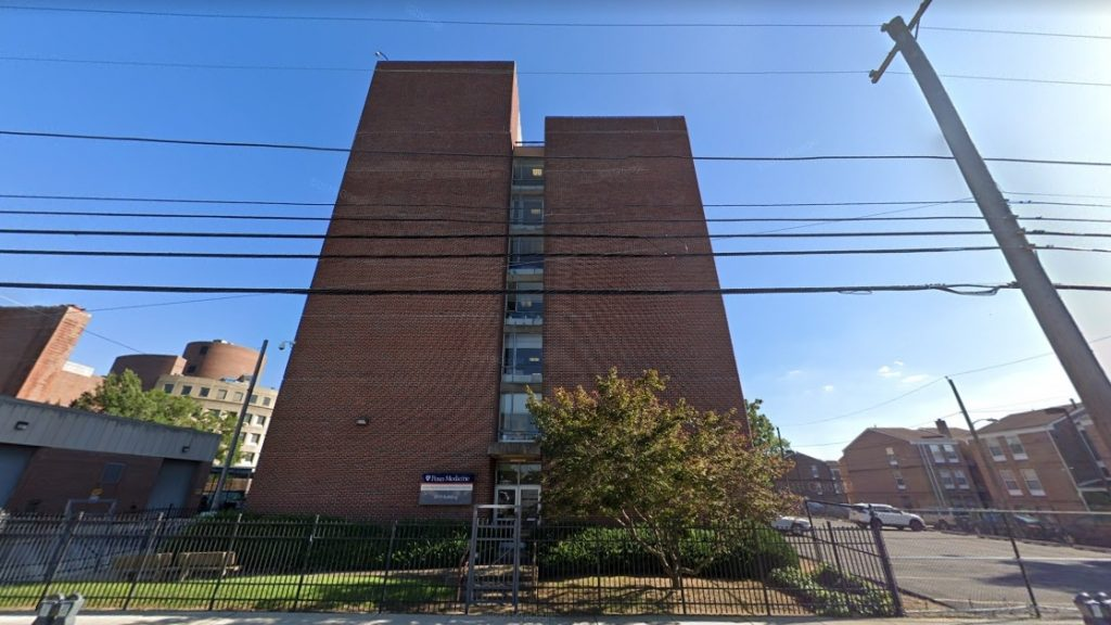 The 3910 Building at 3910 Powelton Avenue. Looking south. Credit: Google