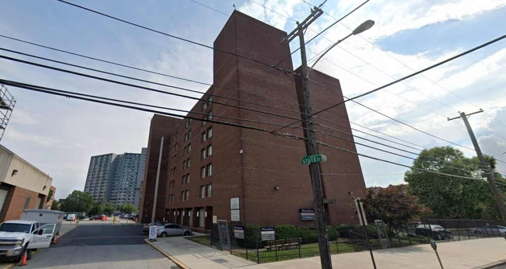 The 3910 Building at 3910 Powelton Avenue. Looking southwest. Credit: Google