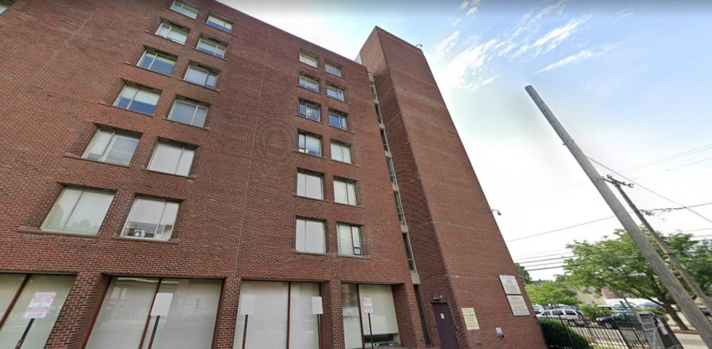 The 3910 Building at 3910 Powelton Avenue. Looking northwest. Credit: Google