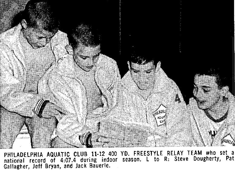 The Philadelphia Aquatic Club. Credit: Swimming World Magazine