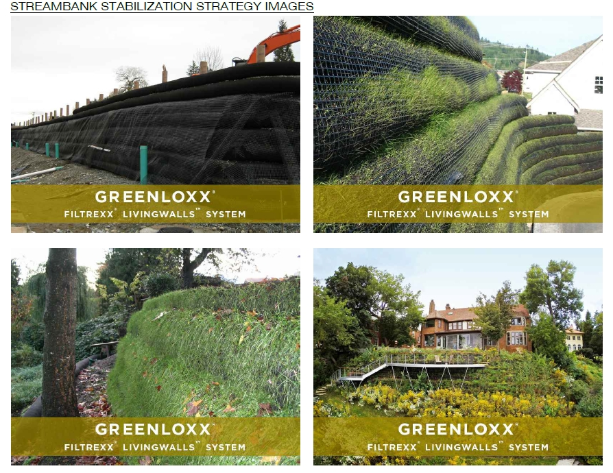Greenloxx Filterexx Livingwall systems via the Civic Design Review