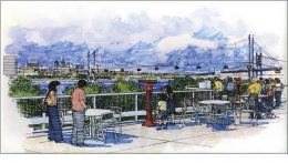 Skylink Aerial Tramway. Image via Delaware River Port Authority