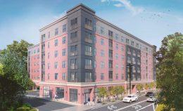 Rendering of 4442 Ridge Avenue. Credit: HDO Architecture.