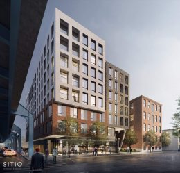 Rendering of 31 East Columbia Avenue. Credit: SITIO Archutecture.