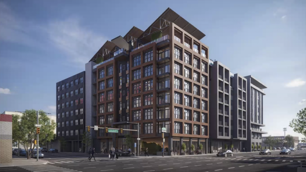 Rendering of 417-20 Callowhill Street.