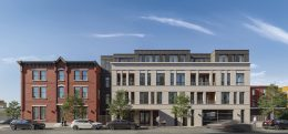 Rendering of 1723 Francis Street. Credit: Gnome Architects.