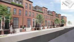 Rendering of 949 North Marshall Street. Credit: Gnome Architects.